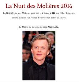 Illustration de Nuit des Molières 2016
