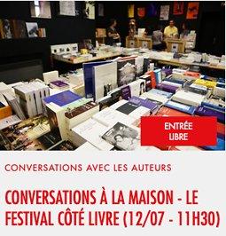 Illustration de Conversations à la maison Jean Vilar - Le Festival Côté Livre