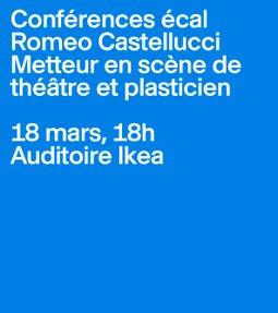 Illustration de Conférence de Romeo Castellucci,