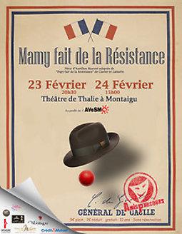Illustration de Mamy fait de la résistance