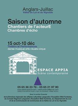 Illustration de Saison D'automne, Chantiers de l'acteurE, Chambres d'Echo