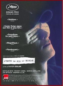 "Illustration de Sortie du film ""Juste la fin du monde"" de Xavier Dolan"