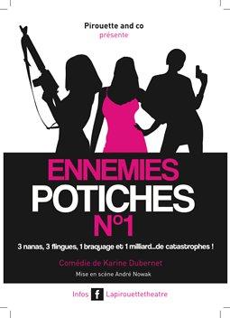 Illustration de Café théâtre : Ennemies potiches N°1