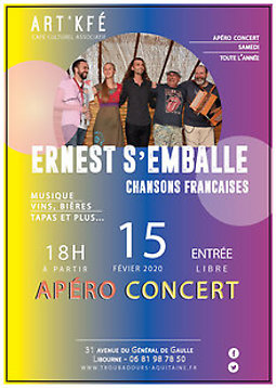 Illustration de Apéro concert - Ernest s'emballe