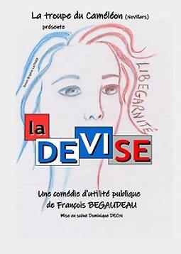 Illustration de La Devise, une comédie d'utilité publique et politique de F. Begaudeau
