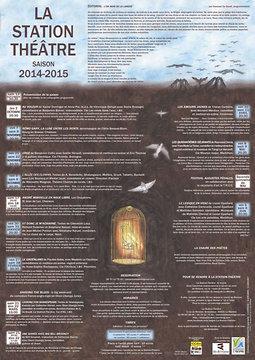 Illustration de Saison 2014-2015 à la Station-Théâtre : soirée de présentation