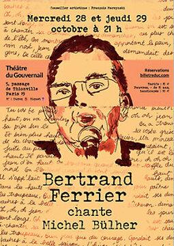 Illustration de Bertrand Ferrier chante Michel Bühler