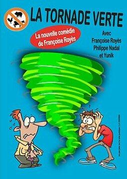Illustration de La Tornade verte