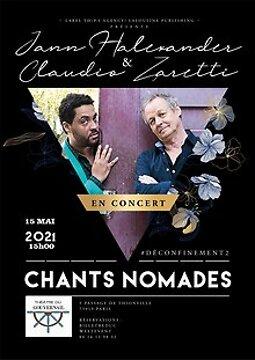 Illustration de Jann Halexander & Claudio Zaretti : Chants nomades