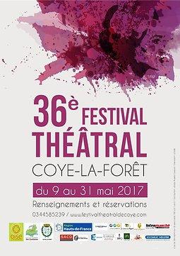Illustration de 36ème festival théâtral de Coye-la-Forêt