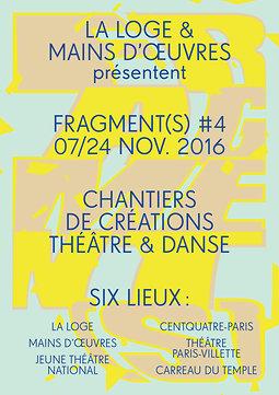 Illustration de Festival Fragment(s) #4 - Chantiers de créations