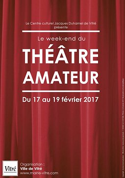 Illustration de Le week-end du théâtre amateur de Vitré