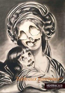 Illustration de Les Tableaux fantômes de Bailleul - Nuit des Musées au Mémorial 14-18