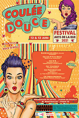 Illustration de Festival Arts de la Rue Coulée douce 2021
