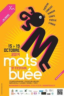 Illustration de Festival Mots Buée 2014