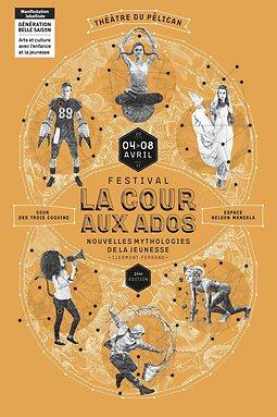 Illustration de La Cour aux Ados – Festival Adolescence/Théâtre/Écriture contemporaine