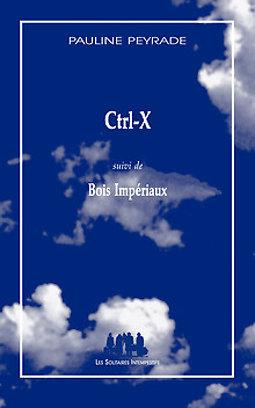 """Illustration de """"Ctrl-X"""" de Pauline Peyrade / Lecture performance par l'auteur"""