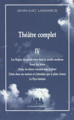 Théâtre complet, vol. IV