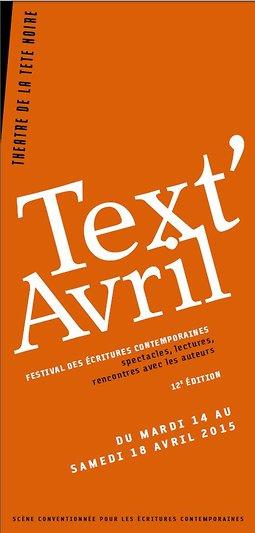 Illustration de Festival Text'Avril 2015