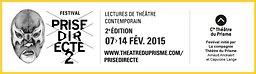Illustration de Prise Directe 2 – Lectures contemporaines - Cie Théâtre du Prisme