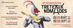 Illustration de Festival Tréteaux Nomades