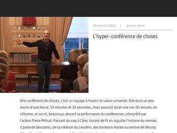 L'hyper-conférence de choses