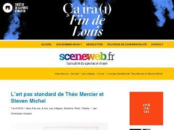L'art pas standard de Théo Mercier et Steven Michel