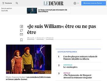 «Je suis William» : être ou ne pas être