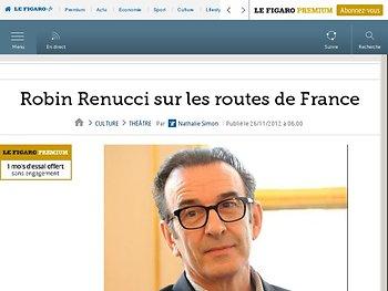 Robin Renucci sur les routes de France