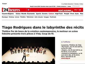 Tiago Rodrigues dans le labyrinthe des récits