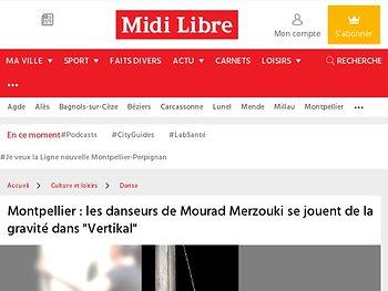 """Les danseurs de Mourad Merzouki se jouent de la gravité dans """"Vertikal"""""""