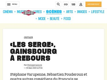«Les Serge», Gainsbourg à rebours