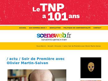 Soir de Première avec Olivier Martin-Salvan