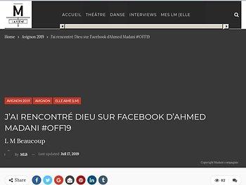 Facebook, le faux  profil de Dieu