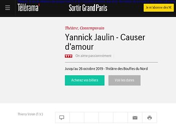 Yannick Jaulin - Matamore du verbe