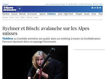 Rychner et Bösch : avalanche sur les Alpes suisses