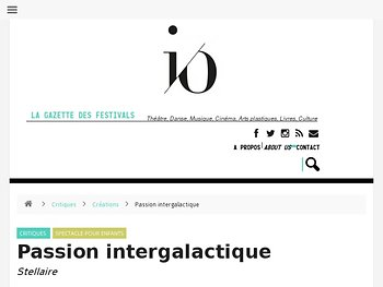 Passion intergalactique