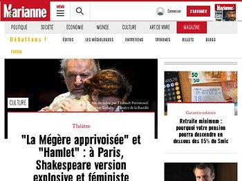 Shakespeare version explosive et féministe