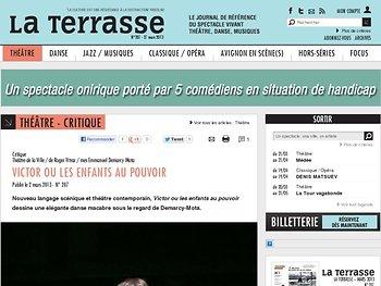Nouveau langage scénique et théâtre contemporain