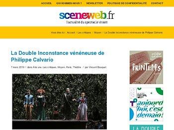 La Double Inconstance vénéneuse de Philippe Calvario