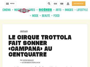 Le Cirque Trottola fait sonner « Campana »