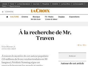 À la recherche de Mr. Traven