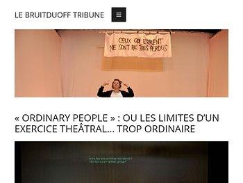 «Ordinary people» : désir de liberté face aux totalitarismes