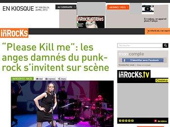 """""""Please Kill me"""": les anges damnés du punk-rock s'invitent sur scène"""