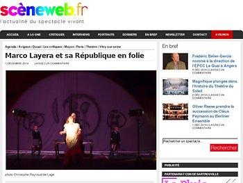 Marco Layera et sa République en folie