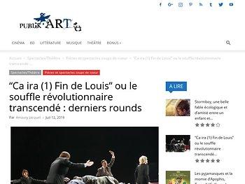 """""""Ca ira (1) Fin de Louis"""" ou le souffle révolutionnaire transcendé : derniers rounds"""