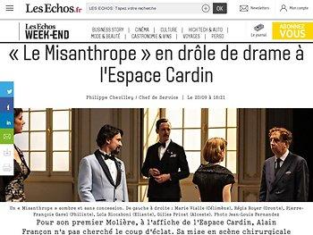 «Le Misanthrope» en drôle de drame à l'Espace Cardin