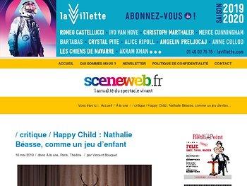 Happy Child : Nathalie Béasse, comme un jeu d'enfant