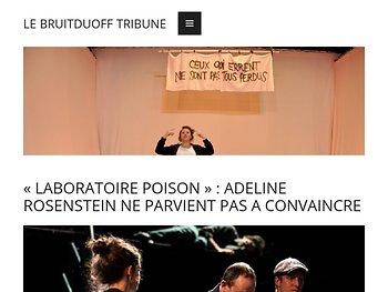 «Laboratoire Poison», exploration historique et poétique du silence