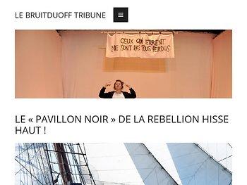 Le « Pavillon Noir » de la rébellion hisse haut !